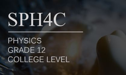 SPH4C-Course launch-feature image